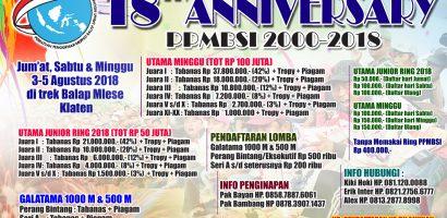 18 th Anniversary PPMBSI 2000-2018