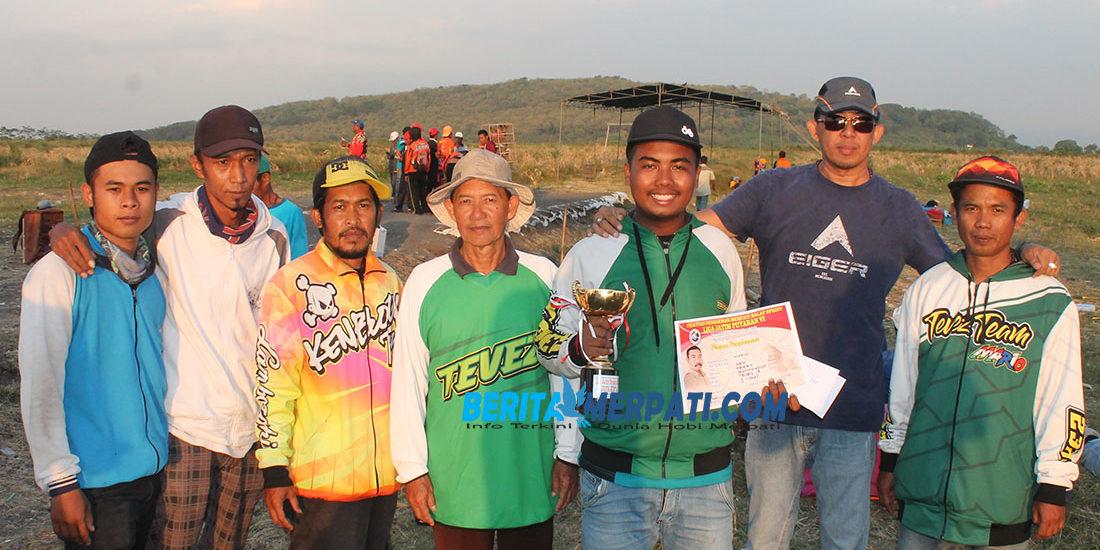 TEVES TEAM; Mario Sabet Runner Up LJB'19 Probolinggo
