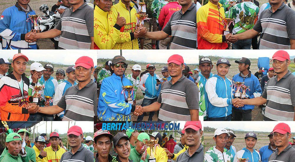 JABALI CUP I 2019; Angin balik, 17 Pembalap Juara Bersama